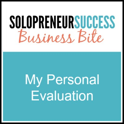 Solopreneur My-Personal-Evaluation